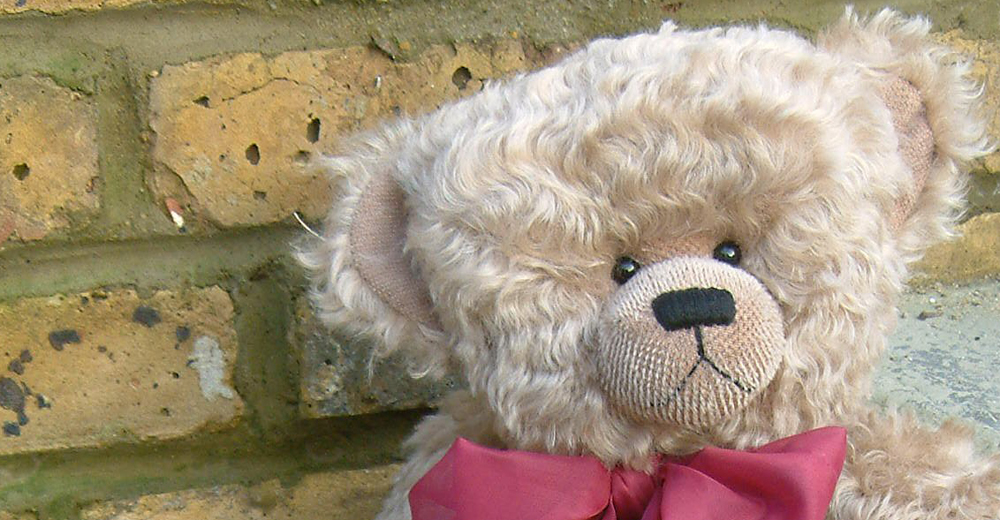 Unique, One-of-a-Kind Bears made in Kent