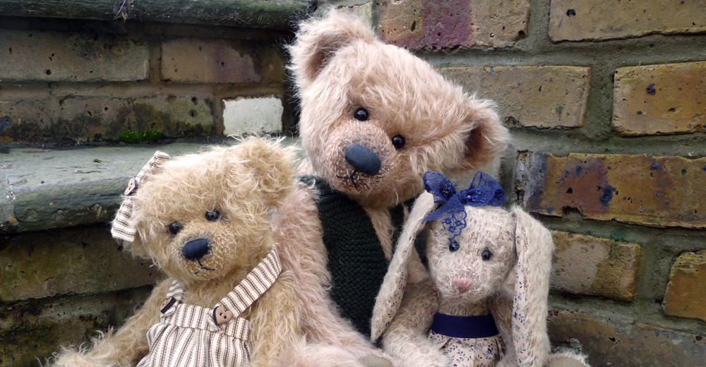 Handcrafted, Mohair Bears and Animals Lovingly Crafted