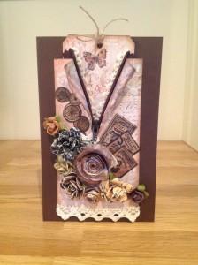 Handmade bithday card