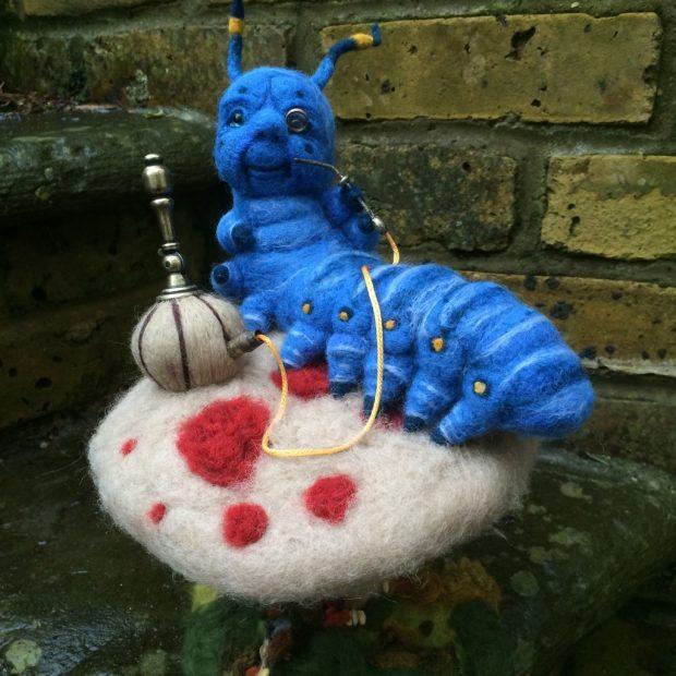 Absolem the blue caterpillar